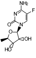 5-Deoxy-5-fluorocytidine
